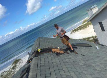 ventilation flashing roof repair