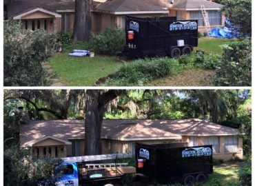complete re-roof done by the Rescue Roofing crew in Seffner, Florida!